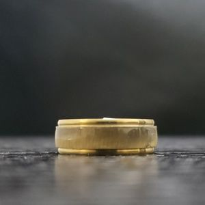Other - 5️⃣For2️⃣5️⃣NWT gold stainless steel Band/ring